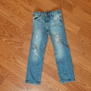 Other - 3/$15 little girls distressed blue Jeans. Q4